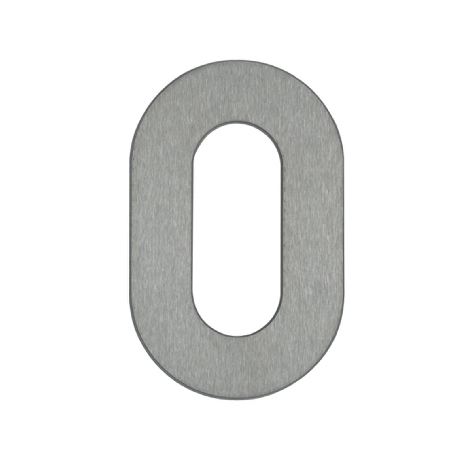Talonumero 0 – ruostumatonta terästä