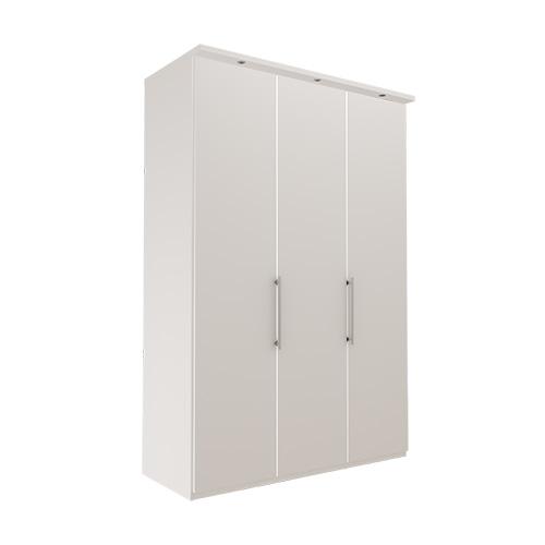 Garderobe Atlanta - Hvit 150 cm, 236 cm, Med gesims