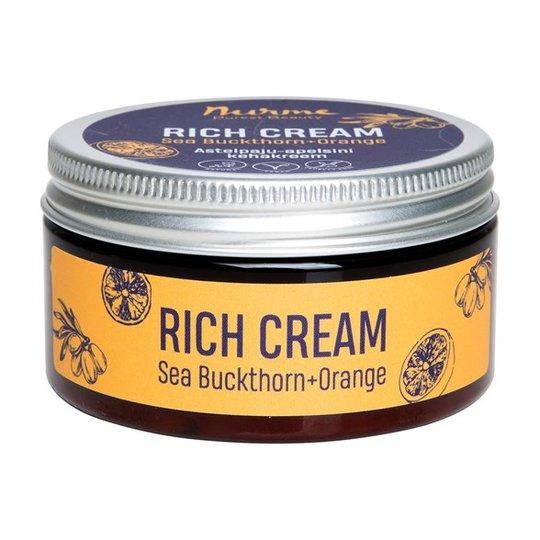 Nurme Rich Cream Sea Buckthorn + Orange, 100 ml