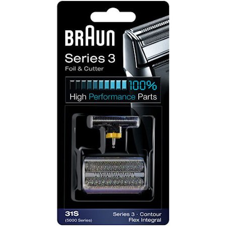 Braun Kombipakning 31S Sølv