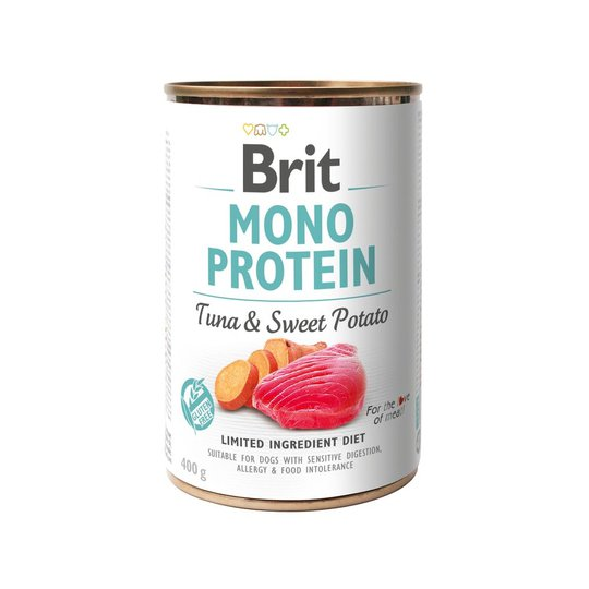 Brit Mono Protein Tuna & Sweet Potato