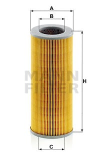 Hydrauliikkasuodatin, automaattivaihteisto MANN-FILTER H 1059/2