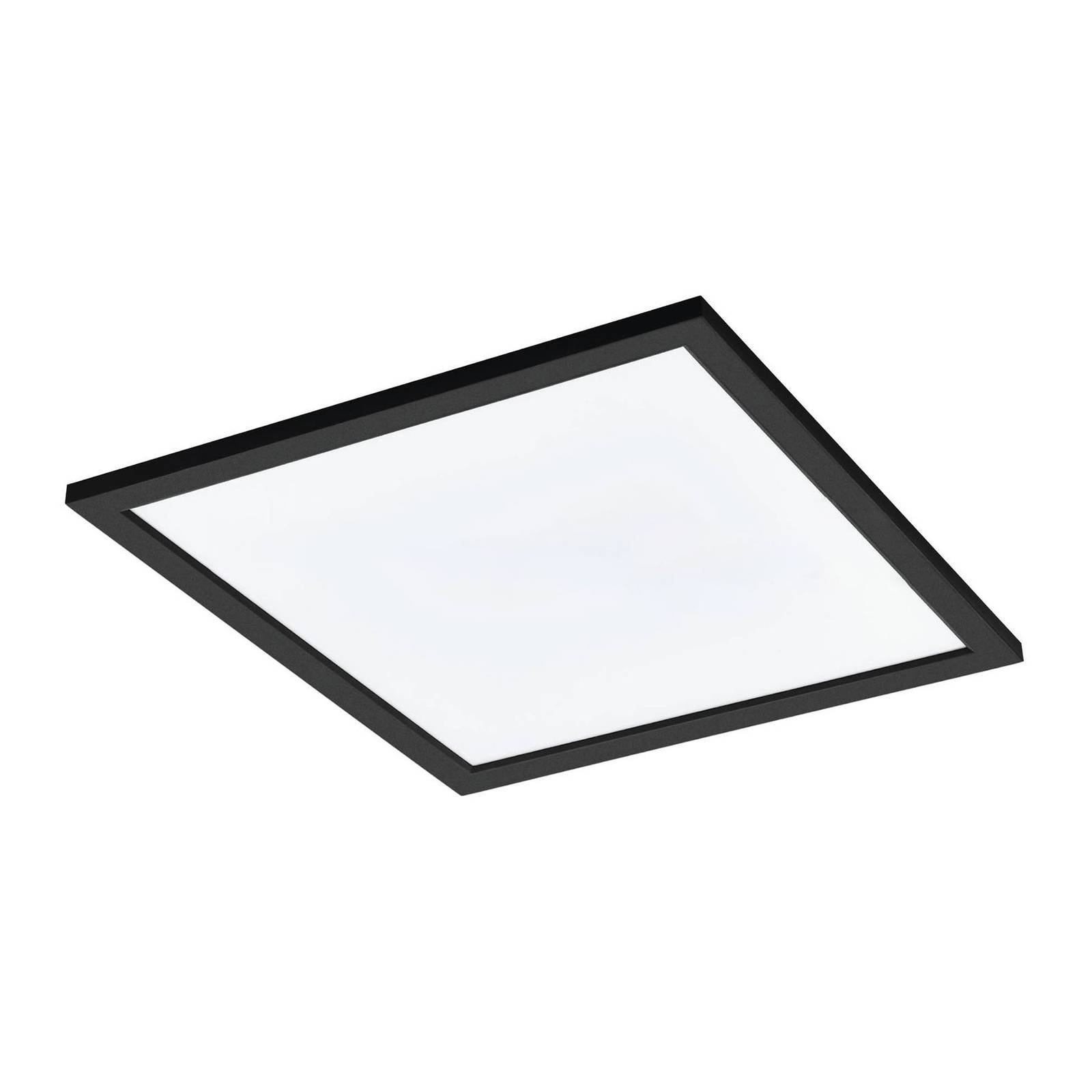 EGLO connect Salobrena-C LED-panel, svart 45x45 cm