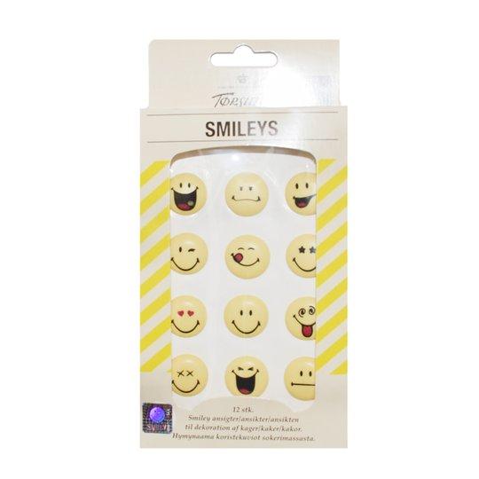Koristekuviot Smileys 12g - 53% alennus