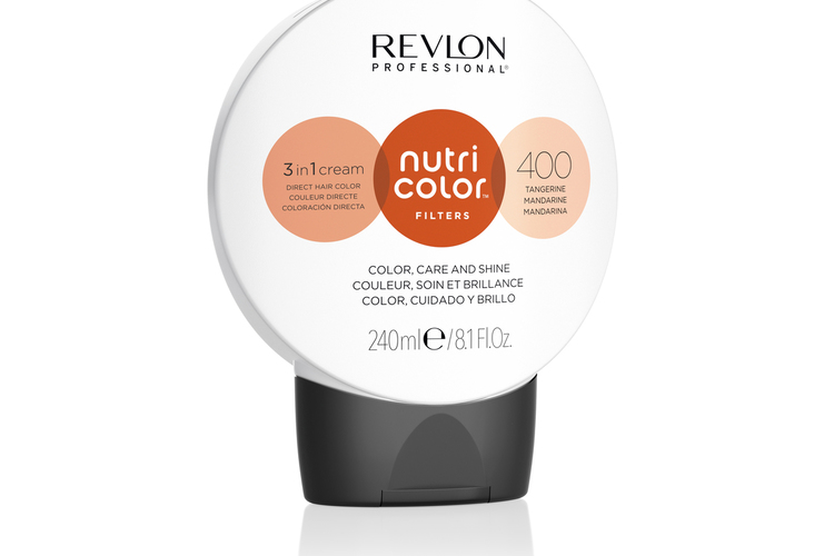 Revlon - Nutri Color Filters Fashion 240 ml - 400 Tangerine
