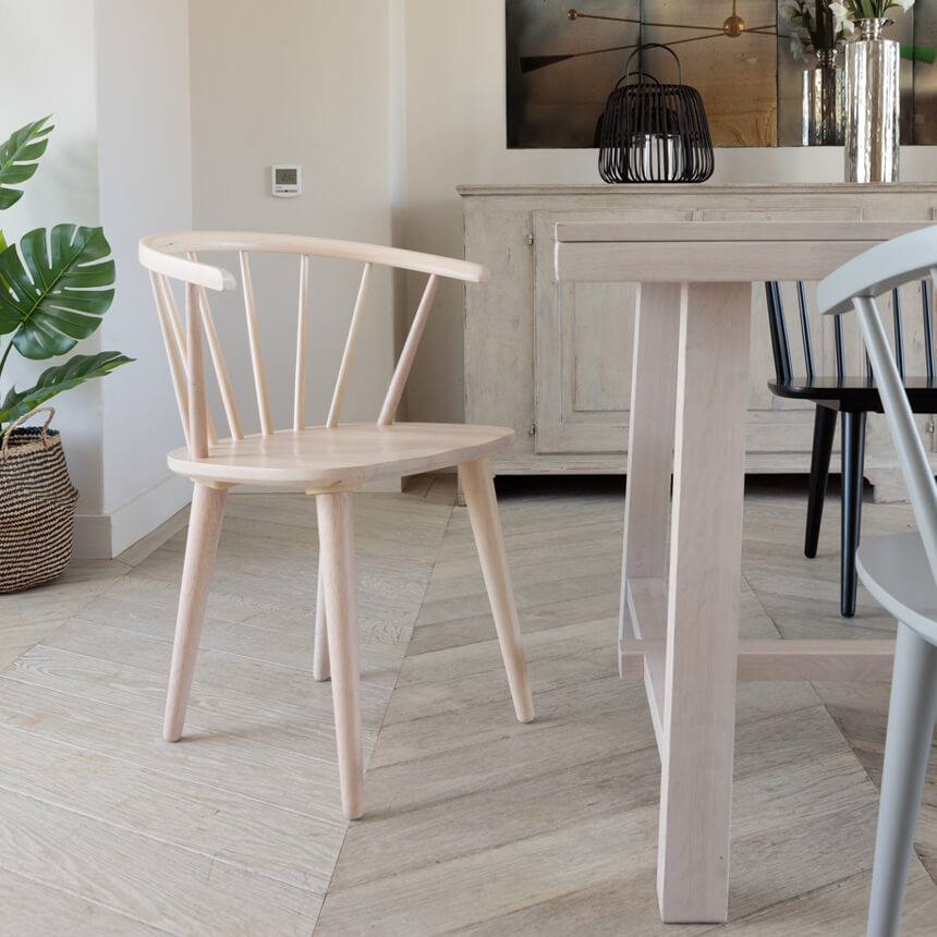 Brunswick Dining Chair – Whitewash (2pk)