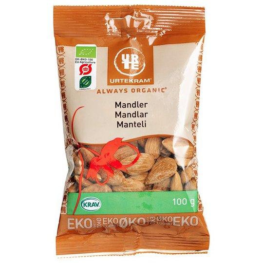 Urtekram Food Mandlar Söta, 100 g