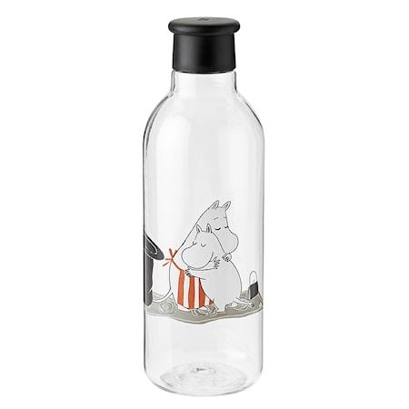 DRINK-IT Mumin Vattenflaska Svart 0.75 L