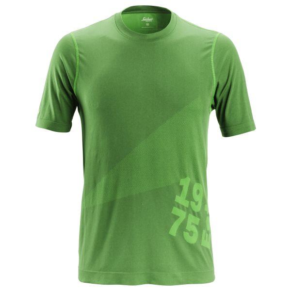 Snickers 2519 FlexiWork T-paita vihreä XS