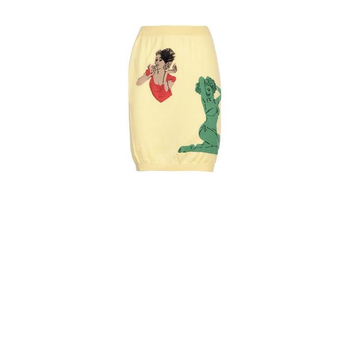 Moschino Couture - Moschino Couture Women Skirt - yellow 42