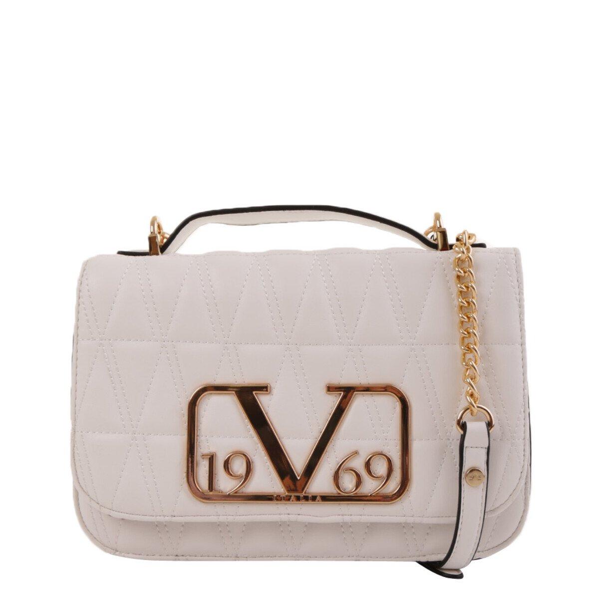 19v69 Italia Women's Shoulder Bag Various Colours 318906 - white UNICA
