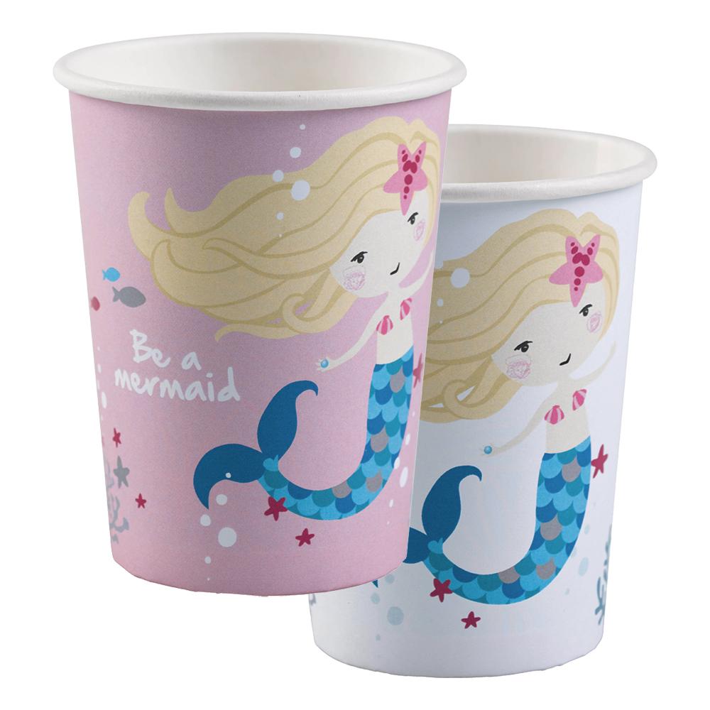 Pappersmuggar Be a Mermaid - 8-pack