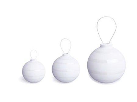 Omaggio Dekorasjonskuler Pärla 3-pakk