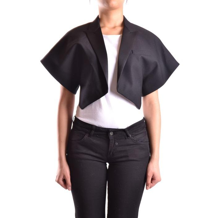 Saint Laurent Women's Blazer Black 186912 - black 38