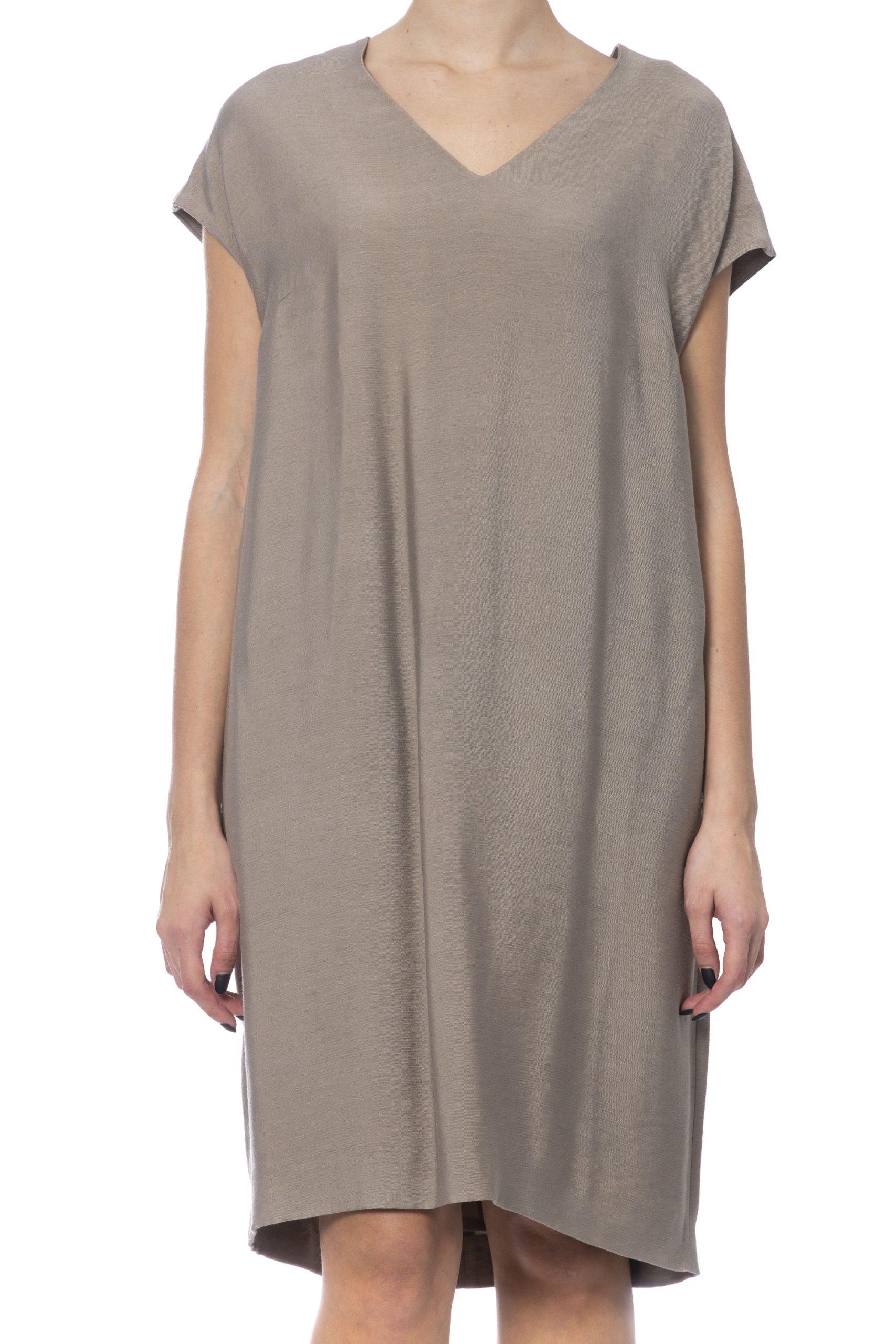 Peserico Women's Dress Beige PE993774 - IT42 | S