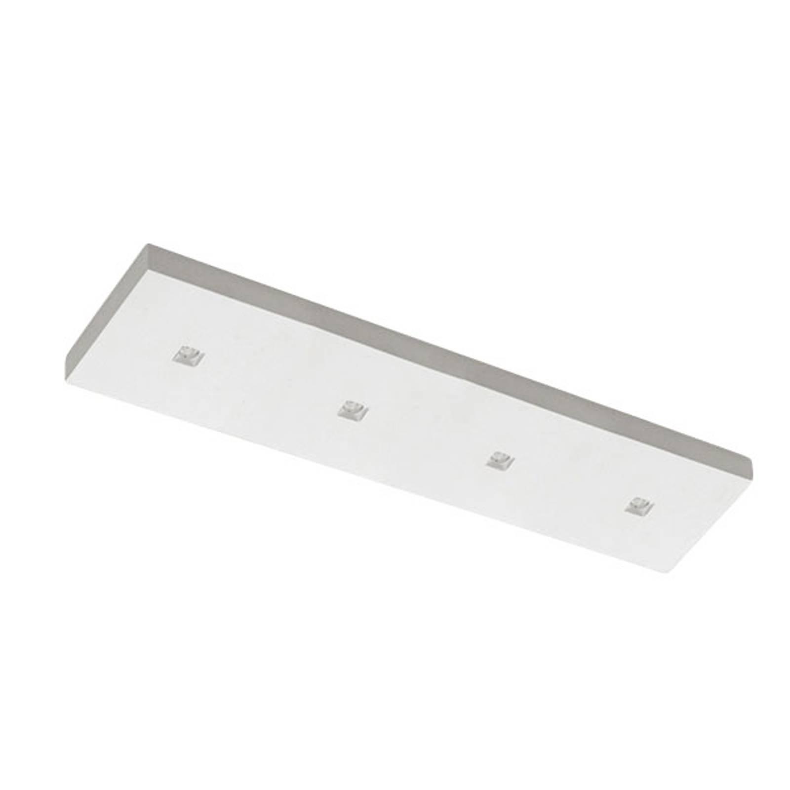 LED-taklampe 8914D, fire lys, 2 700 K, dimbar