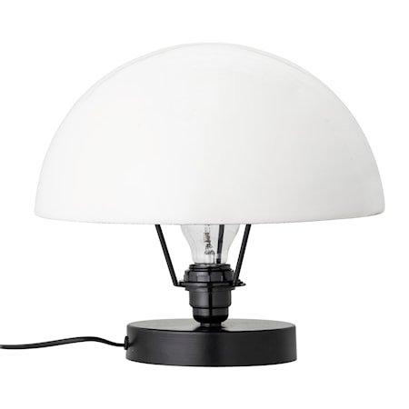 Bordlampe Grå Metall