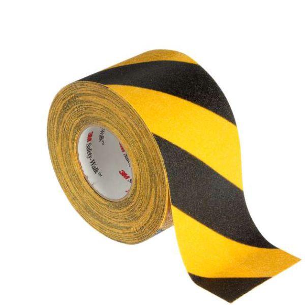 3M Safety-Walk 613 Liukuesteteippi musta/keltainen 51 mm x 18.3 m