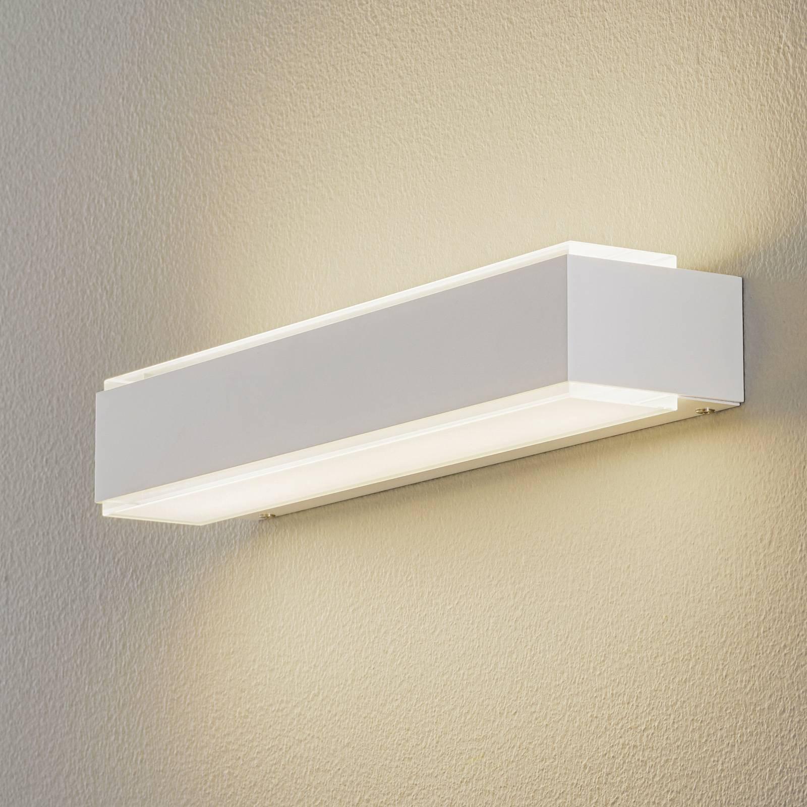 BEGA 78625 LED-vegglampe 3 000 K 40 cm hvit