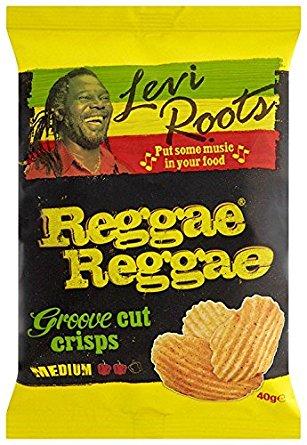 Levi Roots Reggae Reggae Groove Cut Crisps 90g