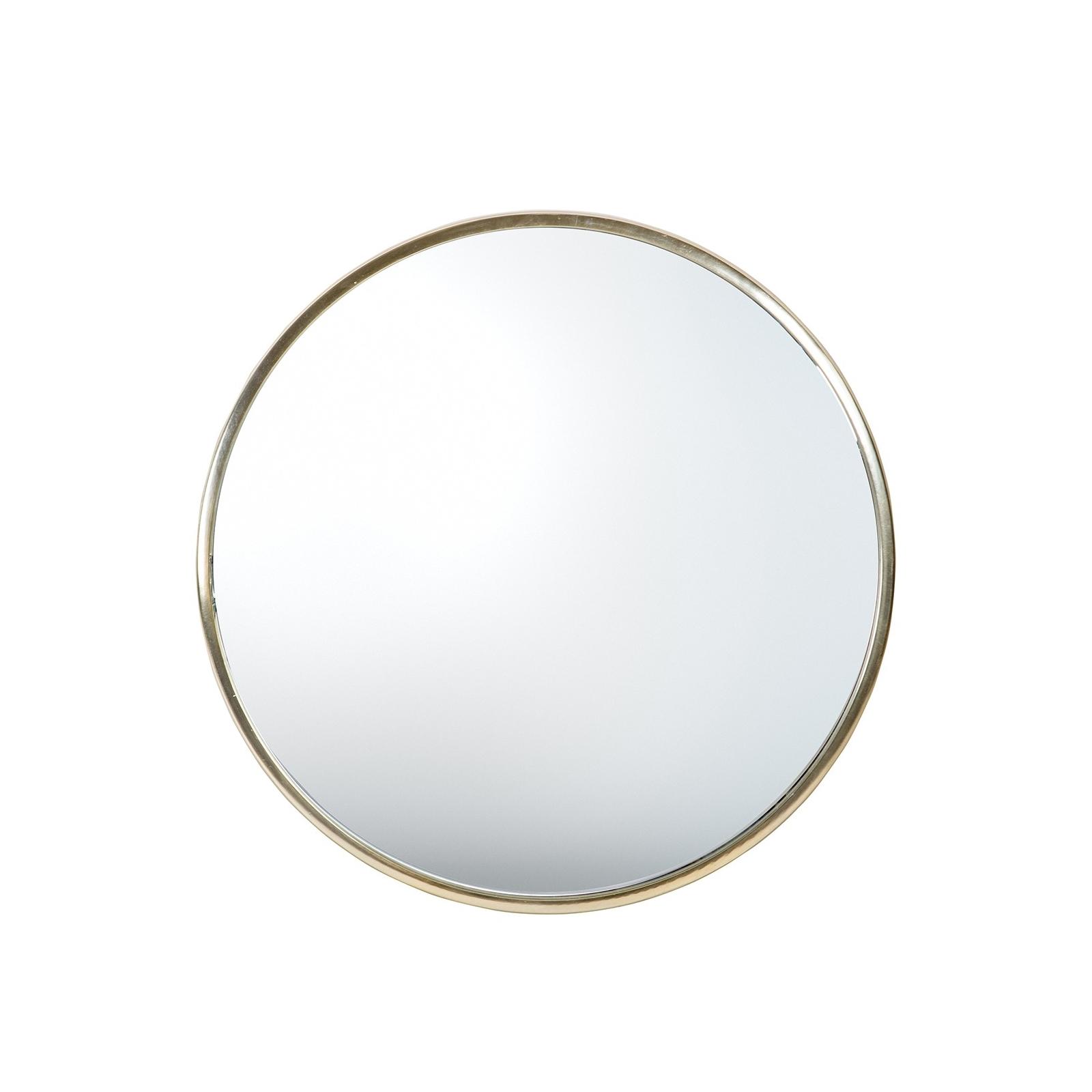 Circle Rund spegel guld 38 cm, Bloomingville