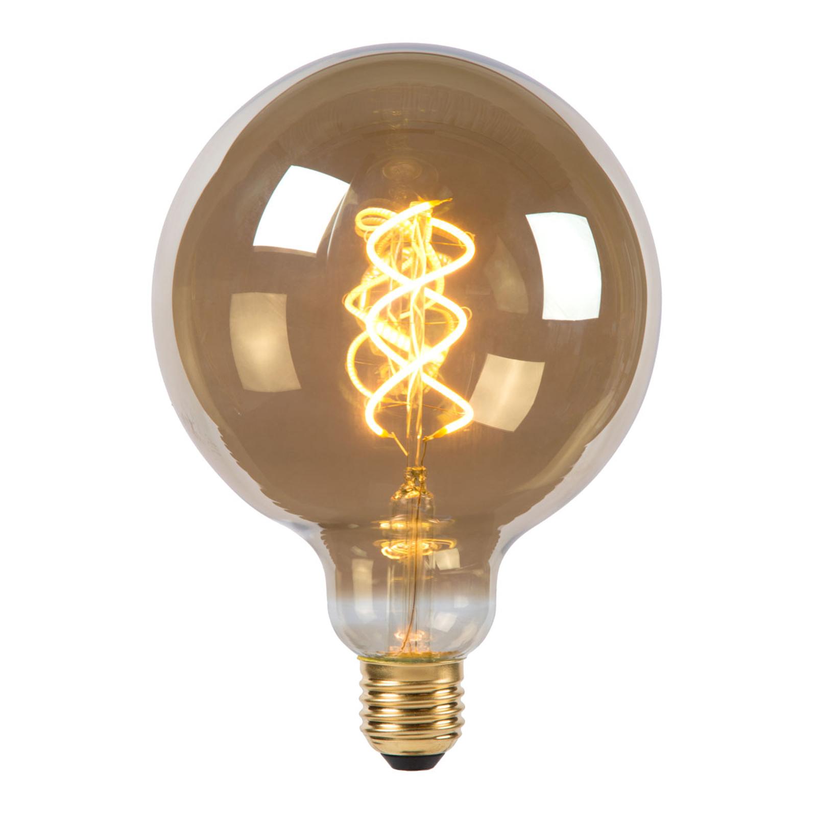 LED-globe-lamppu G125 E27 5W 2 200 K savunharmaa