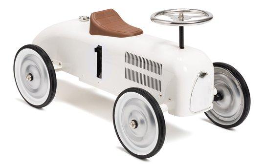 Mini Speeders Classic Gåbil, Hvit