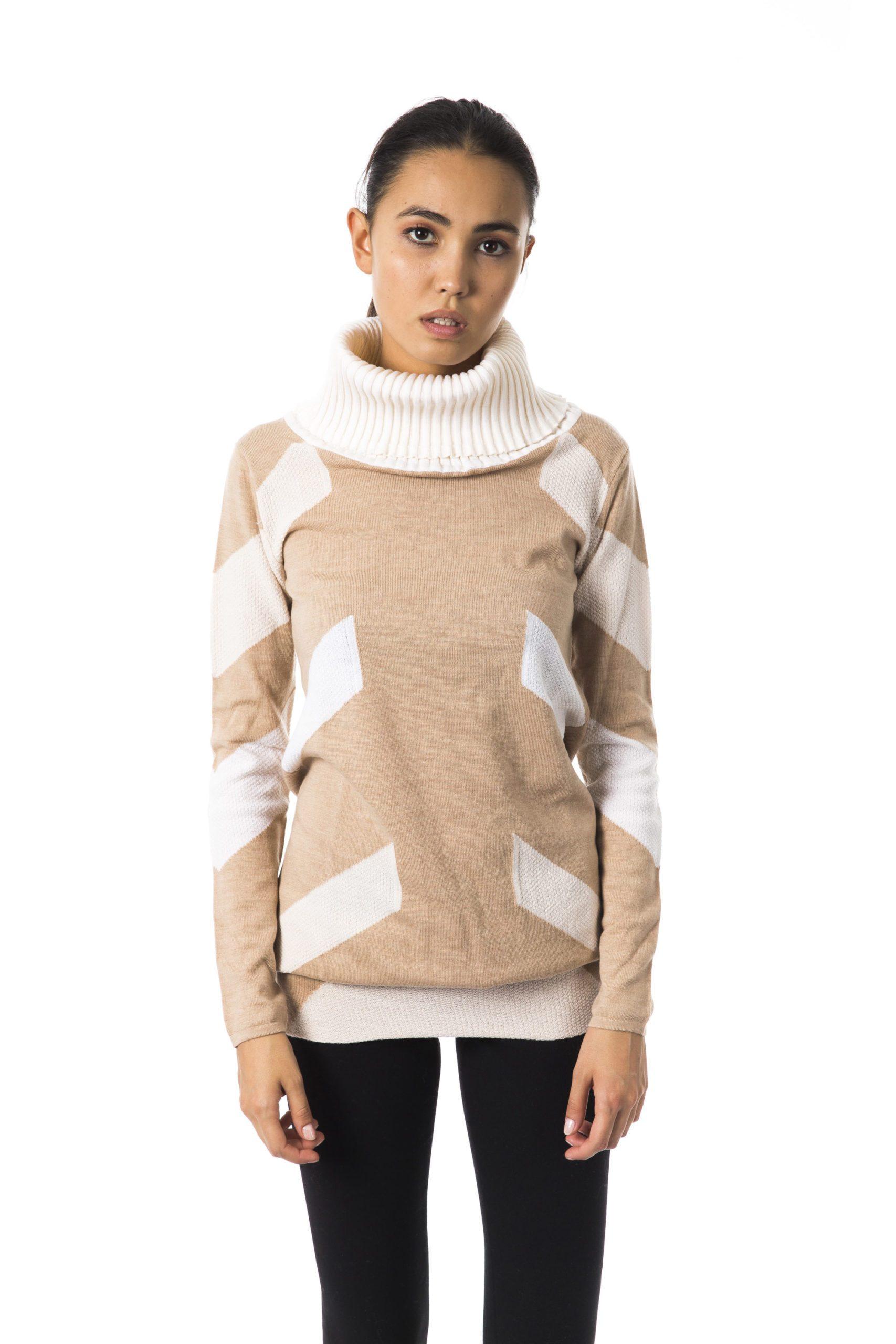 BYBLOS Women's Cartone Sweater Beige BY1258791 - S