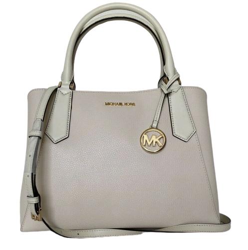 Michael Kors Women's Kimberly Crossbody Bag White MK27531