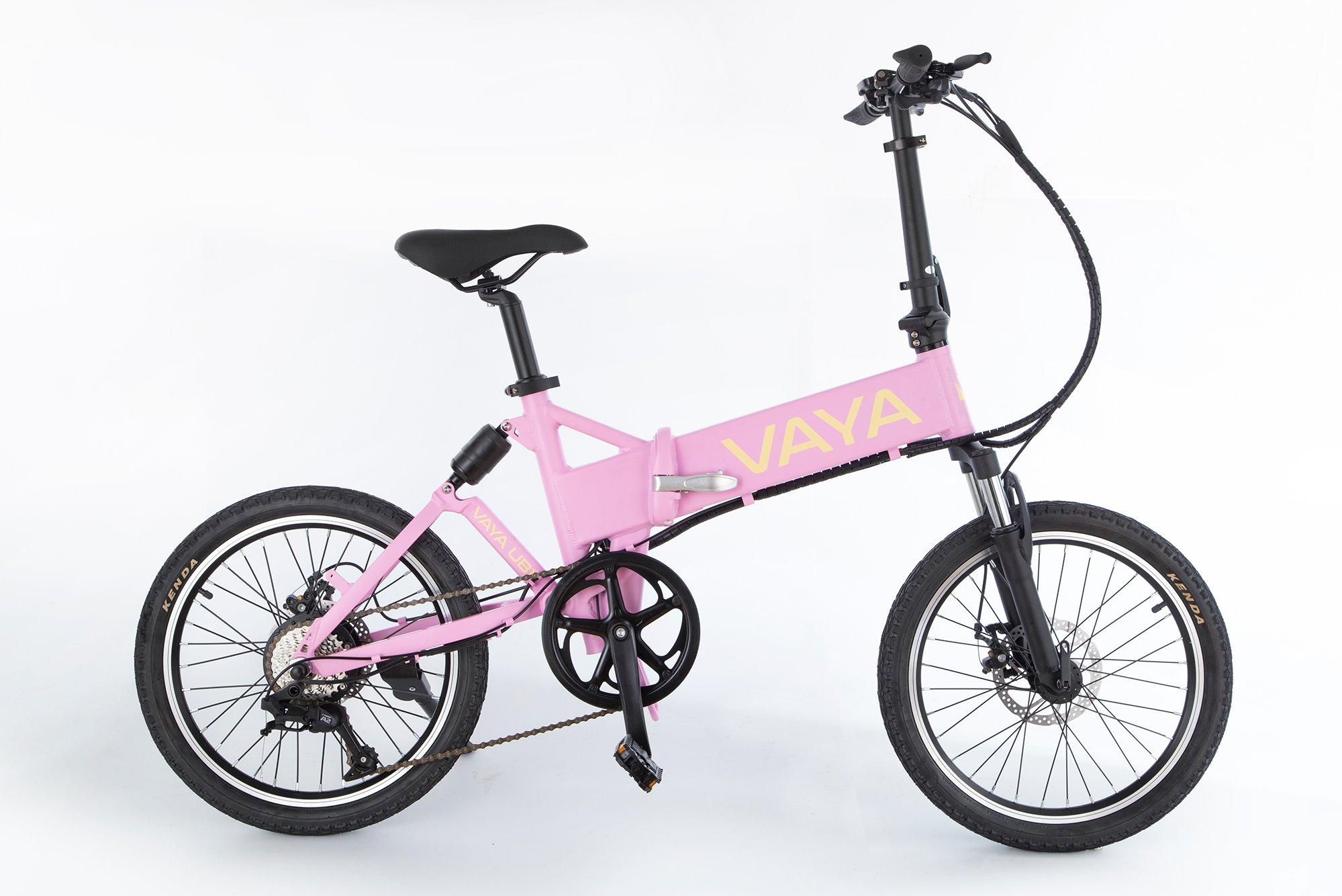 Vaya - Urban E-Bike UB-1 - Electric Bike - Flamingo (1643FL)