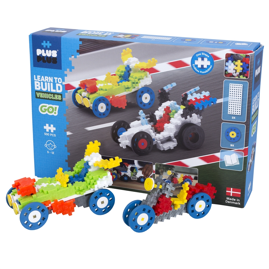 Plus Plus - Learn to build - Vehicles (7011)