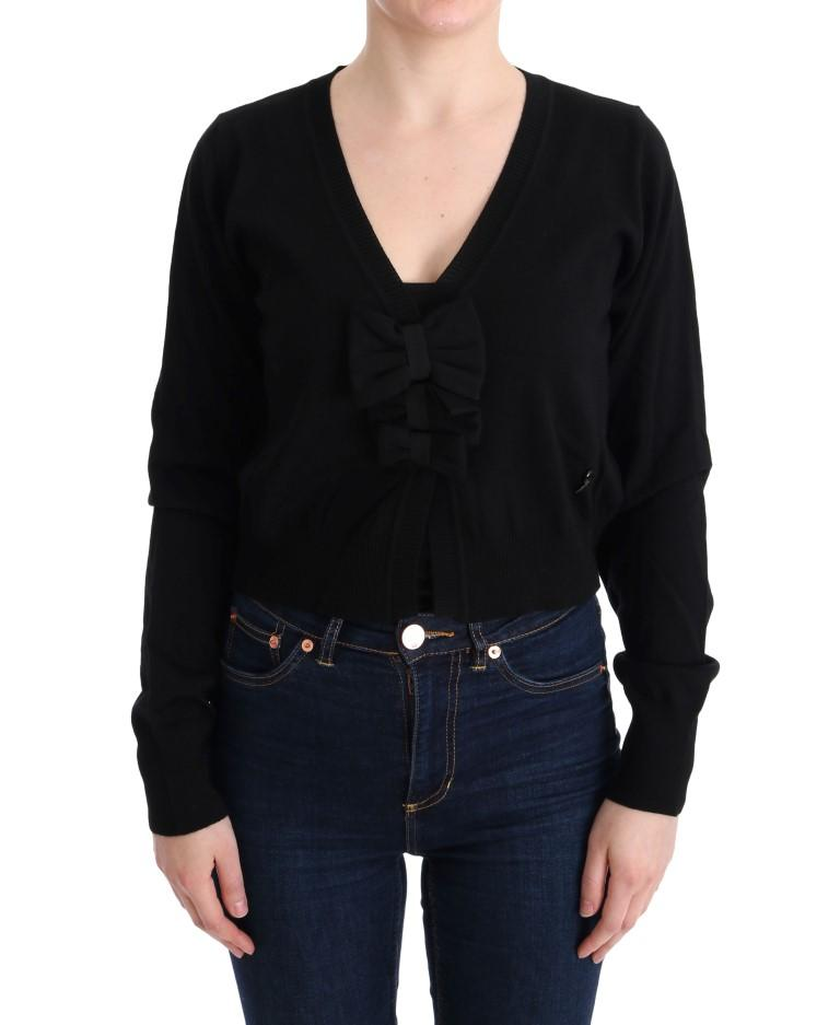 MARGHI LO' Women's Wool Sweater Black SIG30150 - IT44|L