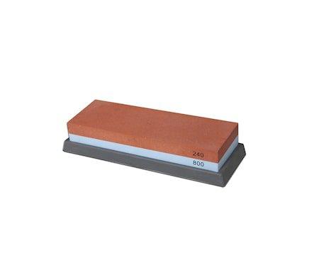 Slipesten rektangulær, grå 240/