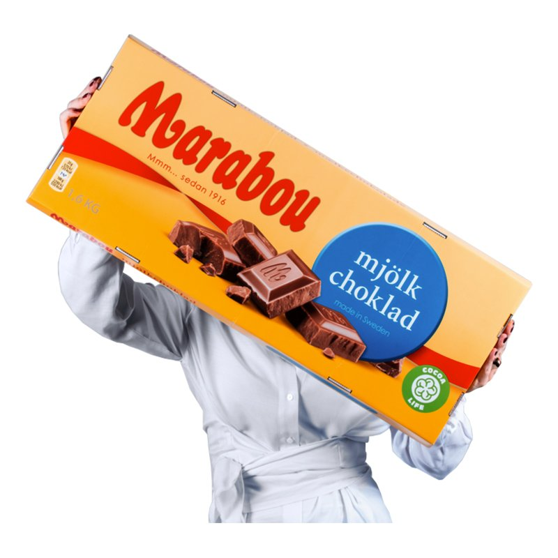 Gigantisk Choklad Marabou