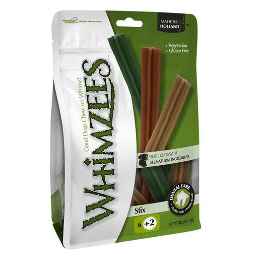 Whimzees Stix Large 6-pack