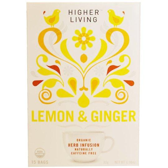 Lemon & Ginger te - 58% rabatt