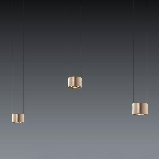 BANKAMP Impulse -LED-riippuvalaisin 3-lamp.