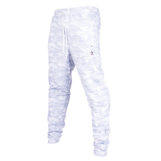 Star Nutrition Tapered Pants, White Camo