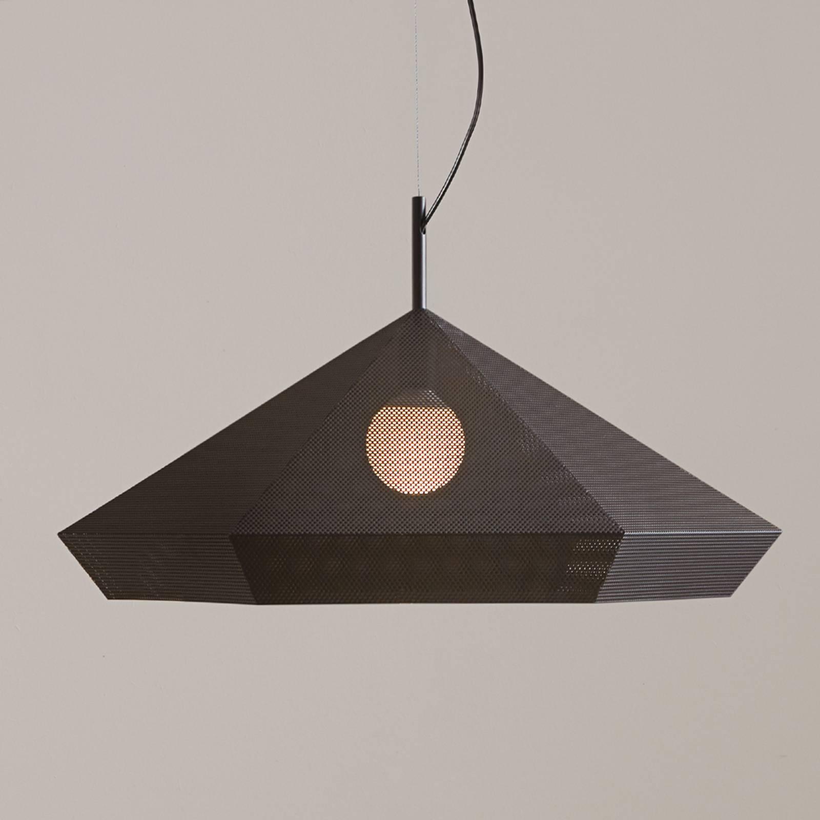 Priamo design-riippuvalaisin, musta, 77 cm