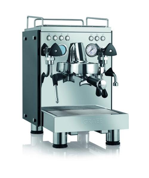 Graef Contessa Espressomaskin - Rostfritt Stål