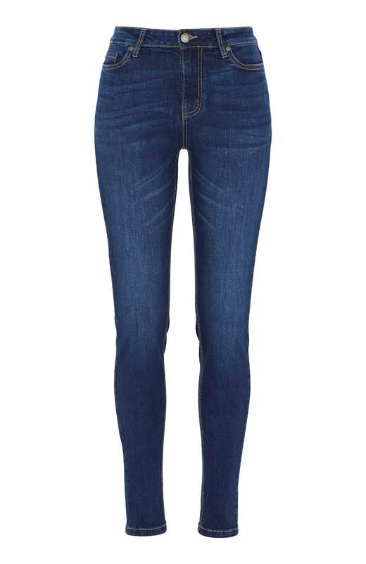 Cellbes Superstretchiga jeans Paris Mörkblå Denim