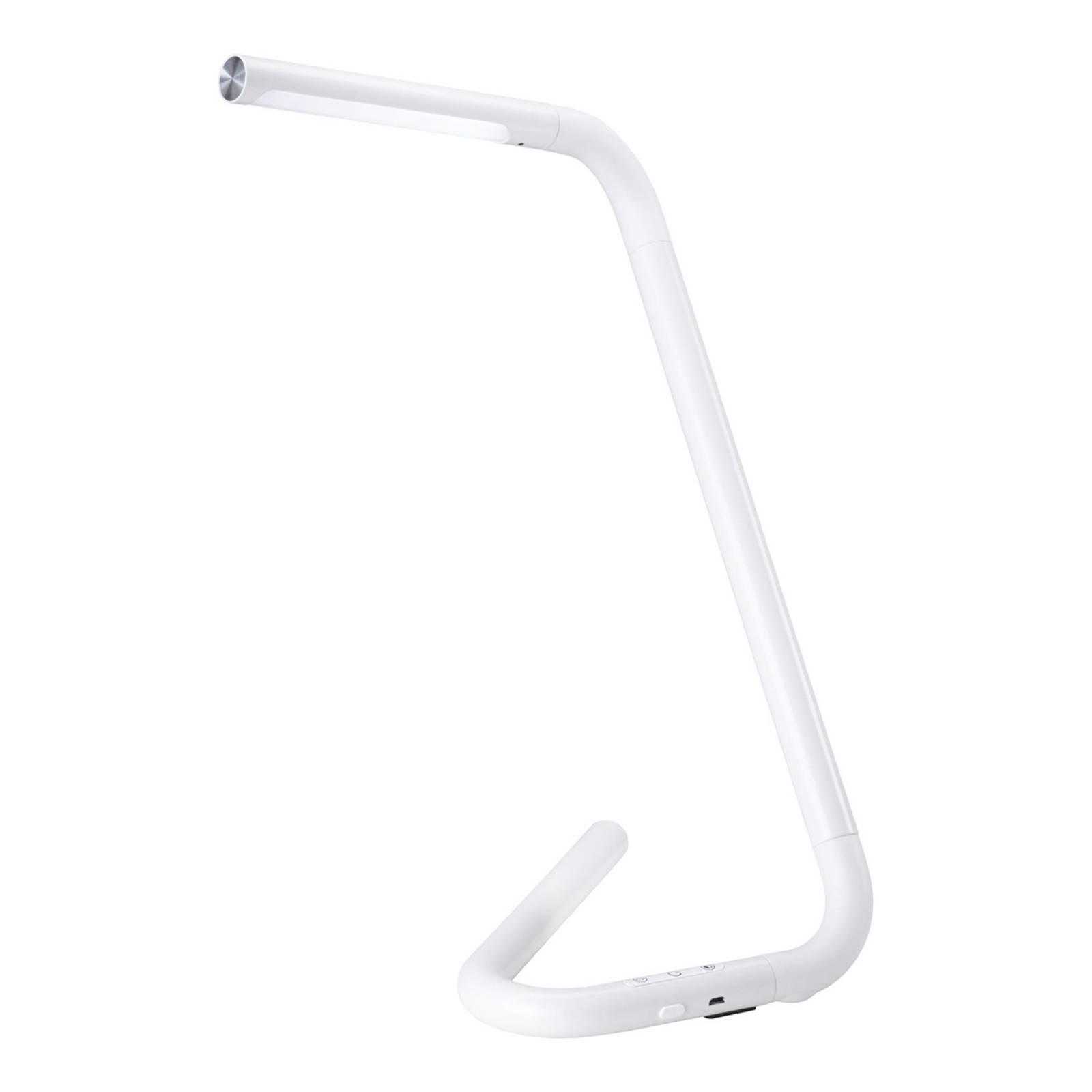 Paulmann FlexLink -LED-pöytälamppu, akku valkoinen
