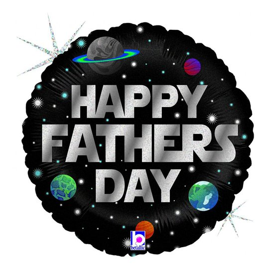 Folieballong Happy Fathers Day - 45 cm