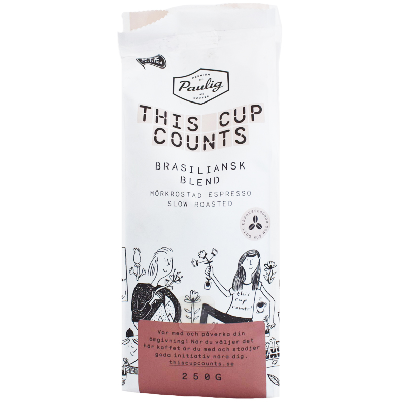 "Kaffebönor ""Brasiliansk Blend"" 250g - 64% rabatt"