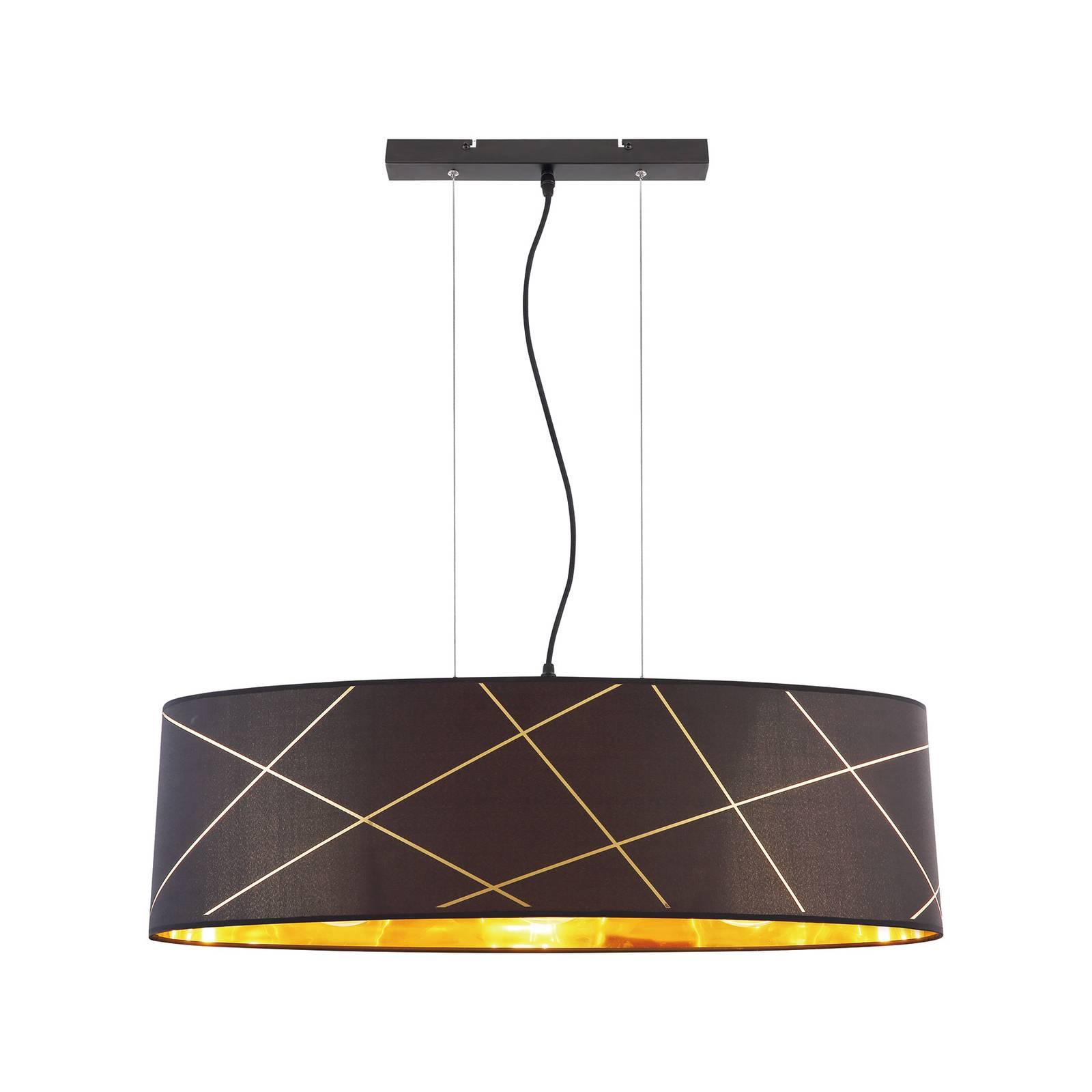 Lindby Sindri -riippuvalaisin, 1-lamppuinen ovaali