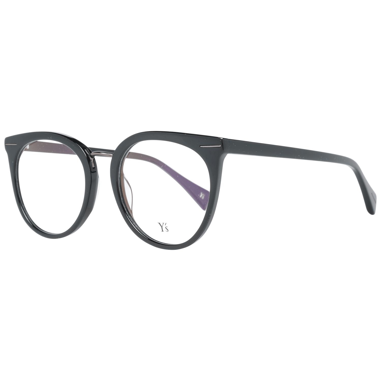 Yohji Yamamoto Men's Optical Frames Eyewear Black YS1002 51001
