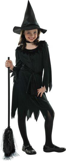 Kostyme Lil Witch 4-6 år