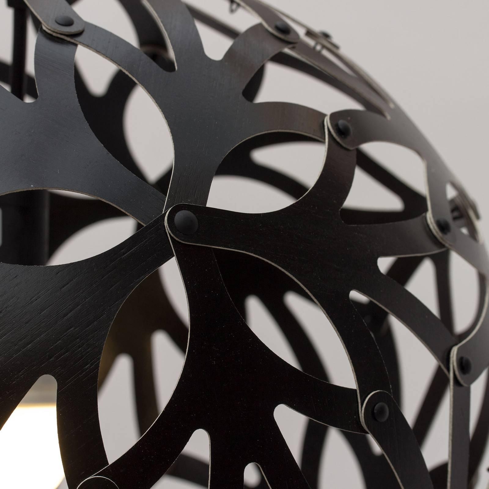david trubridge Floral -riippuvalo Ø 60 cm musta