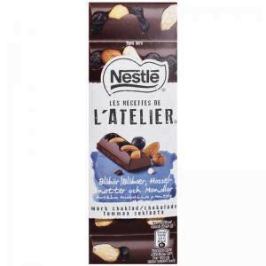 Mörk Choklad Blåbär 100g - 40% rabatt