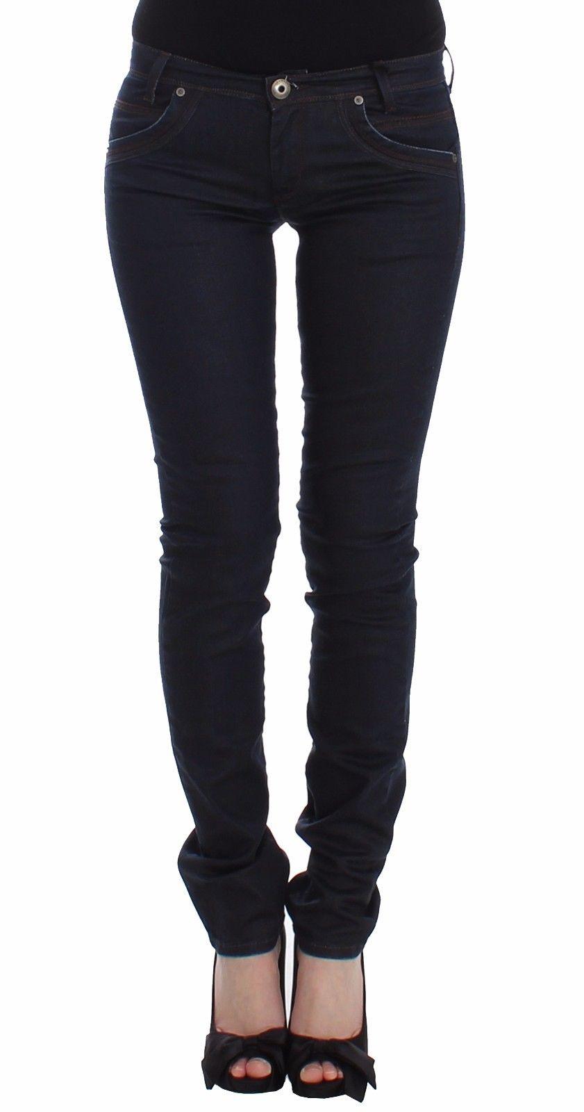 Ermanno Scervino Women's Skinny Leg Jeans Blue SIG12471 - W26